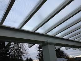 patio cover clear modern patio outdoor solar carports for
