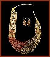 navajo bead designs. Delighful Navajo Navajo Indian Beadwork Necklaces In Bead Designs S