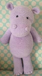 Crochet Hippo Pattern