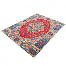 8 5 x 11 2 vintage classic persian rug tabriz design from