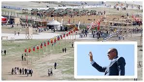 AKP'nin şefi erdoğan, Van'ın Ahlat ilçesinde yaptırmak istediği saray ile ilgili Anayasa Mahkemesi durdurma kararı almıştı.