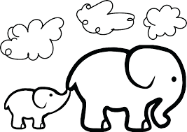Realistic Coloring Pages Elephant Q0218 Rustic Free Coloring Pages