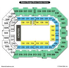 raising canes river center arena seating chart rodeo
