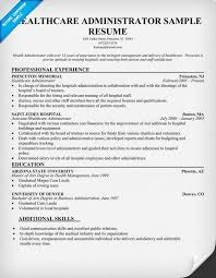 Healthcare Administration Sample Resume 15 Entry Level Healthcare  Administration Resume Examples
