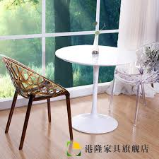 armchair transpa acrylic plastic hollow crystal fashion casual dining chair designer and creative outdoor chairs
