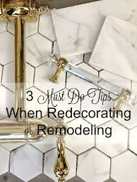 Redecorating Kitchen 3 Must Do Tips When Remodeling Or Redecorating Plus Our Kitchen