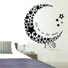moon and stars wall decals projects idea star wall art interior decor home designs moon creative  on star wall art designs with moon and stars wall decals wall decals inspirational amazon moon and