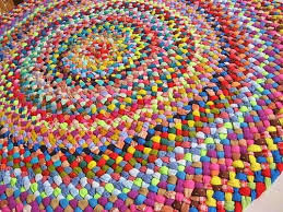 interior new handmade colorful round area braided rug i just finish flickr adorable rugs extraordinay