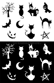 Download Halloween silhouettes stock vector. Illustration of halloween -  10962477