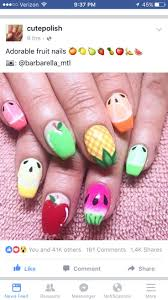 37 best Fruit inspired Manicure images on Pinterest | Fruit nail ...