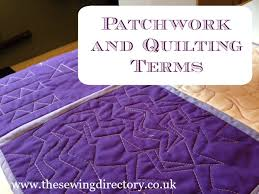 Glossary of patchwork and quilting terminology | quilting ... & Glossary of patchwork and quilting terminology Adamdwight.com