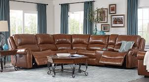 leather couch living room. Lancaster Heights Brown 6 Pc Leather Sectional Leather Couch Living Room S