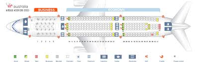 Seat Map Airbus A330 200 Virgin Australia Best Seats In The