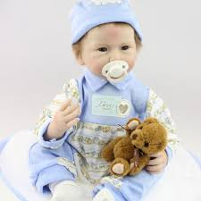 Best Selling 55cm Silicone Reborn Baby Dolls Toy Baby Doll