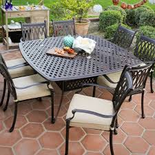 durable outdoor furniture awesome cast iron patio furniture stone table top 5 piece outdoor set