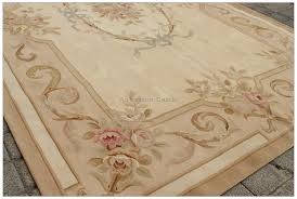 aubusson rug 5x8 antique french pastel