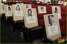 Emmys 2018 Seating Chart See Where The Stars Are Sitting