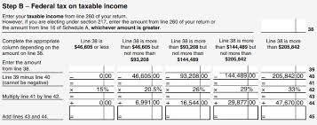Average Tax Return By Income Chart Canada 9 2 4 Tax Brackets And Rates Canada Ca