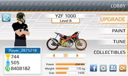download drag bike racing mod apk