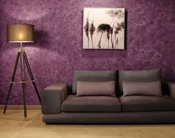 Purple Painted Bedroom Purple Color For Living Room To Create An Attractive Guest By