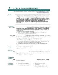 New Nurse Resume No Experience New Graduate Nurse Resume Template Radtourism Co