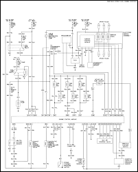 Isuzu rodeo trucks wiring diagram isuzu wire harness schematic circuit radio diagram full size