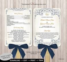 38 best wedding stationery images on pinterest wedding Wedding Invitations Programs Free Download wedding program fan template diy program fan instant download wedding word doc wedding invitation software free download