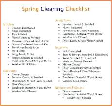 Apartment Cleaning Checklist Apartment Cleaning Spring Cleaning