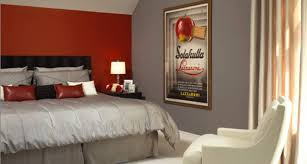 25 cool red and grey bedroom ideas