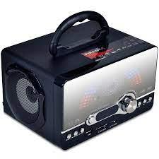 Music Box B Type - Şarjlı + SD Kart + USB + Dijital FM Radyolu Portatif Müzik  Çalar - Teknolojiyi Seviyorum