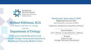 Join Us For The 2nd Annual Urology Dinner Panel Fundraiser