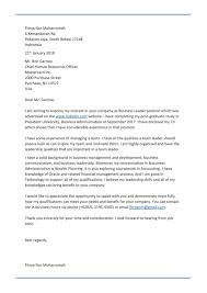 application letter resume maker create professional application letter contoh application letter bahasa inggris fresh graduate admin 45