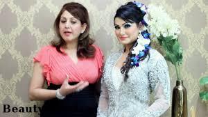asian stani indian bridal hair tutorial wedding hairstyle