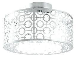 full size of 8 crystal chrome flush mount chandelier light modern rectangular semi home im improvement