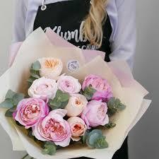 Купить <b>букеты из пионовидных роз</b> с доставкой по Москве ...