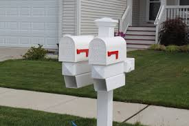 cool residential mailboxes. Mailbox Post Cool Residential Mailboxes L