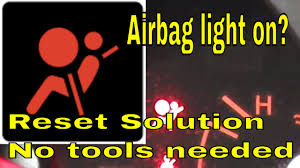Red Airbag Light How To Reset Airbag Light Cigit Karikaturize Com