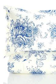 image of melange home 400 thread count cotton toile duvet set navytoile cover uk red king
