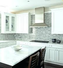 kitchen backsplash white cabinets. Grey And White Kitchen Backsplash Quartz Cabinets With  Subway Tile Also I