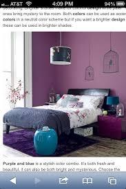 Purple Mix Bedroom, Black Bed, Splash Of Turquoise/aqua.one Of My Many  Dream Bedrooms.