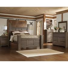 Driftwood Rustic Modern 6 Piece King Bedroom Set - Fairfax  RC Willey