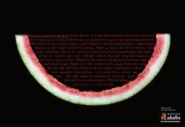 print ad leo burnett. Akatu Institute Print Ad - Candied Watermelon Rind Leo Burnett