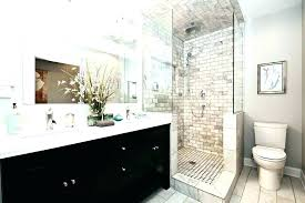 Examples Of Bathroom Remodels Fascinating Master Bathroom Remodel Ideas Black And White Remodel Ideas Metalrus