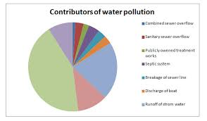 Types Of Water Pollution Chart Ppt Water Pollution Power Point Presentation