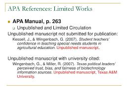 Alec 681 Seminar Apa Style References Ppt Download