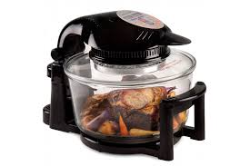 premium 12 litre digital halogen oven with hinged lid