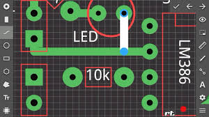 How To Make Led Design Board How To Make Pcb Design On Android