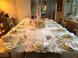 Thanksgiving Dinner Table Decorations - Home Design Ideas and Pictures