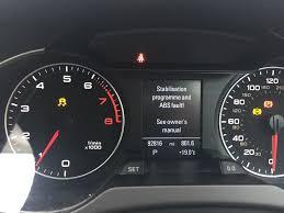 Audi A4 Brake Light Switch Problems Stabilisation Abs Fault Parking Brake Malfunction Warnings
