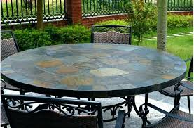 mosaic tile patio table small unique and full size of garden large home tiled tables round p